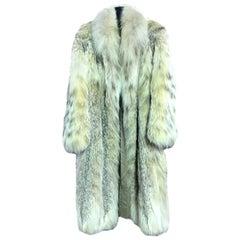 Hanae Mori Japanese Modern Designer Fourrure Full Length Fur Coat