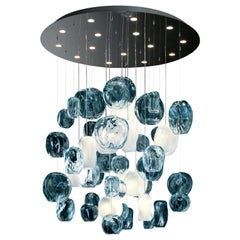 Hanami 7297 Suspension Lamp in Glass, by Barovier & Toso