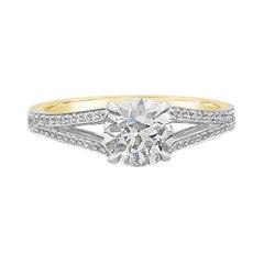 Hancocks 1.05 Carat J VS1 Old European Brilliant Cut Diamond Ring