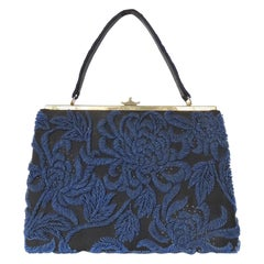 Hand Beaded Silk Handbag