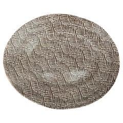 Hand-Built Studio Pottery Platter