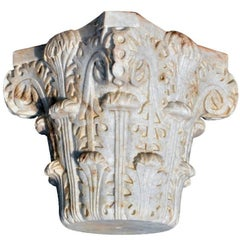 Hand-Carved Al-Andalus Honeycomb Capitel Reproduction