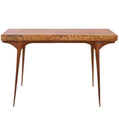 Hand-Carved American Craft Console