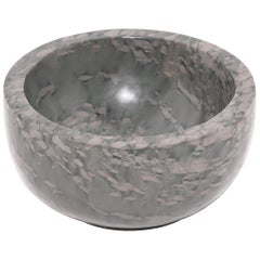 Hand-Carved Chinese Footed Stone Basin