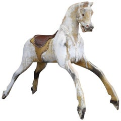 Hand Carved English Lines Bros Rocking Horse