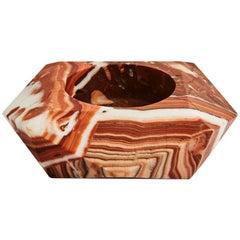 Hand Carved Large Marble Gem Objet by Greg Natale