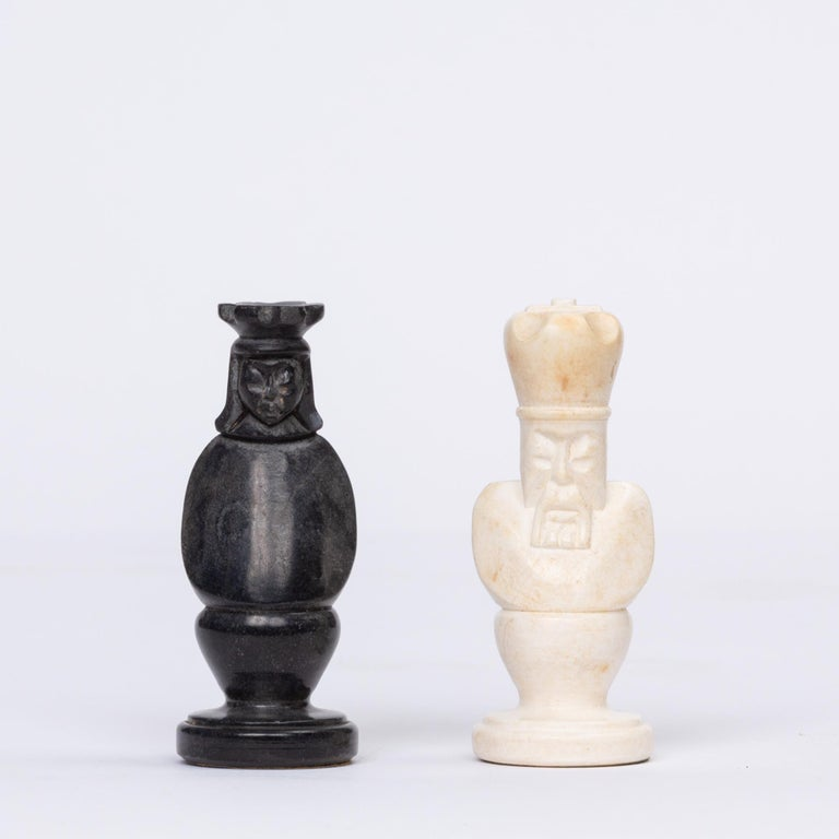 Hand Carved Marble Chess Set 5