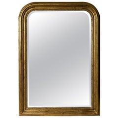 Hand Carved Napoleon III Style Louis Philippe Mirror, Medium