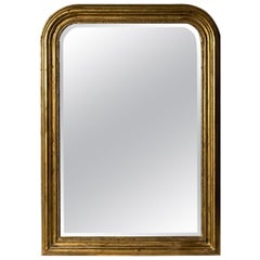 Hand Carved Napoleon III Style Louis Philippe Mirror, Medium