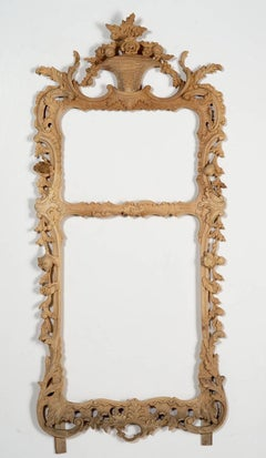 Hand Carved Pine Chippendale Style Frame