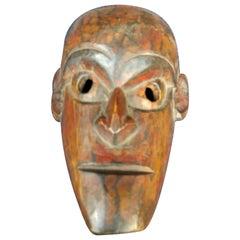 Hand Carved Teak Wood Mask