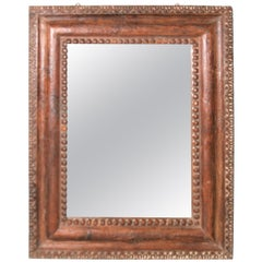 Hand Carved Teak Wood Mirror
