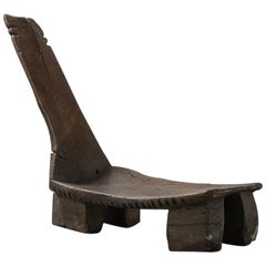 Hand Carved Tunisian Lounge Chair