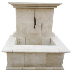 Hand Carved Wall Fountain