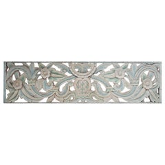 Hand Carved Wood Wall Panel from Indonesia