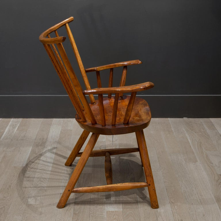 Handcrafted Primitive Stick Armchairs, circa 1930 For Sale 11