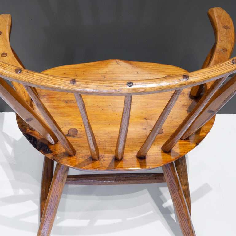 Handcrafted Primitive Stick Armchairs, circa 1930 For Sale 13