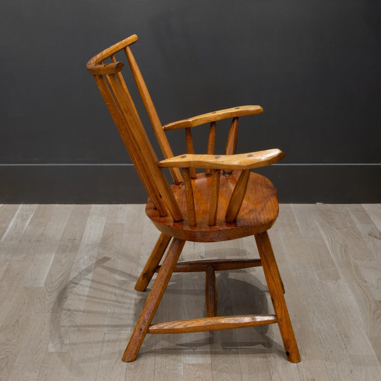 Rustic Handcrafted Primitive Stick Armchairs, circa 1930 For Sale