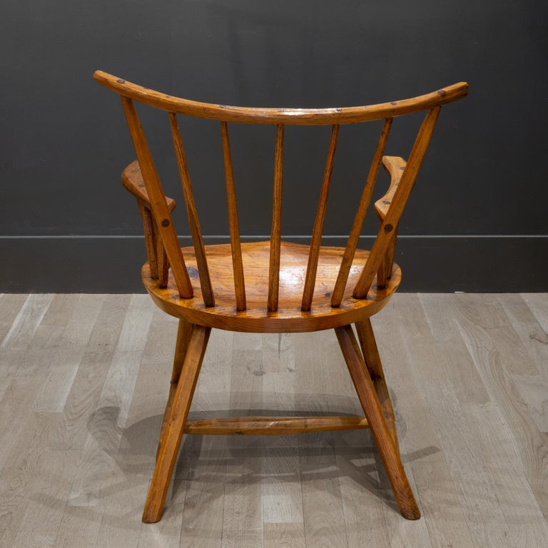 Handcrafted Primitive Stick Armchairs, circa 1930 For Sale 2