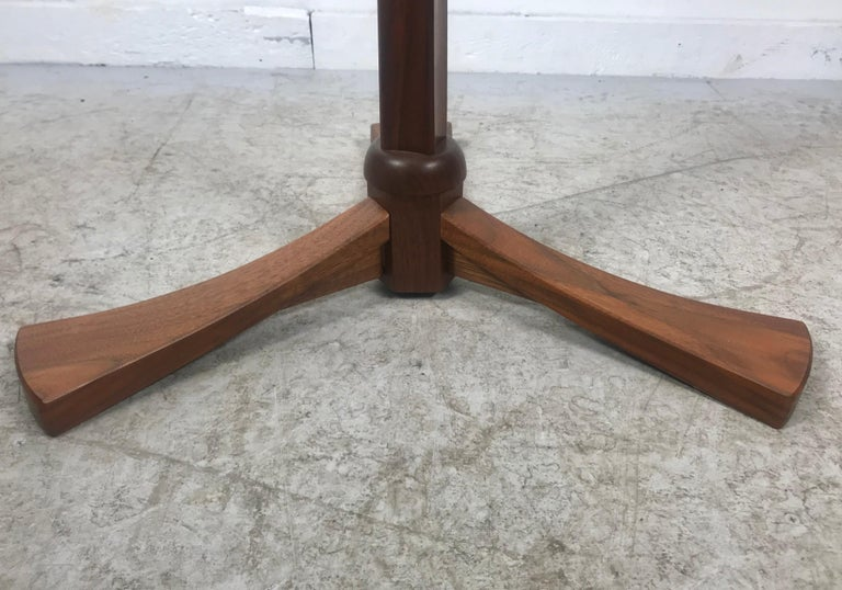 Handcrafted Rosewood Music Stand, Rochester Folk Art Guild after Wendell Castle For Sale 3