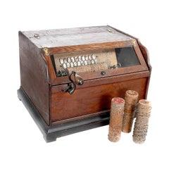 Hand Crank 1885 Concert Rollor Organ