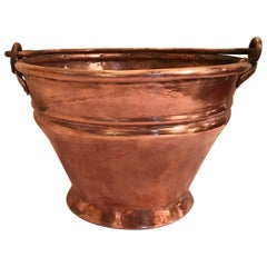 Hand-Forged Copper Bucket