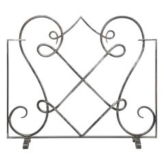 Hand Forged Steel Fireplace Screen