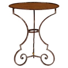 Hand Forged Steel Garden Table