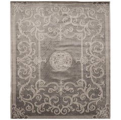 Hand Knotted, All Art Silk, Altesse Anchor Edition Bougainville