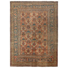 Hand Knotted Antique Doroksh Persian Rug