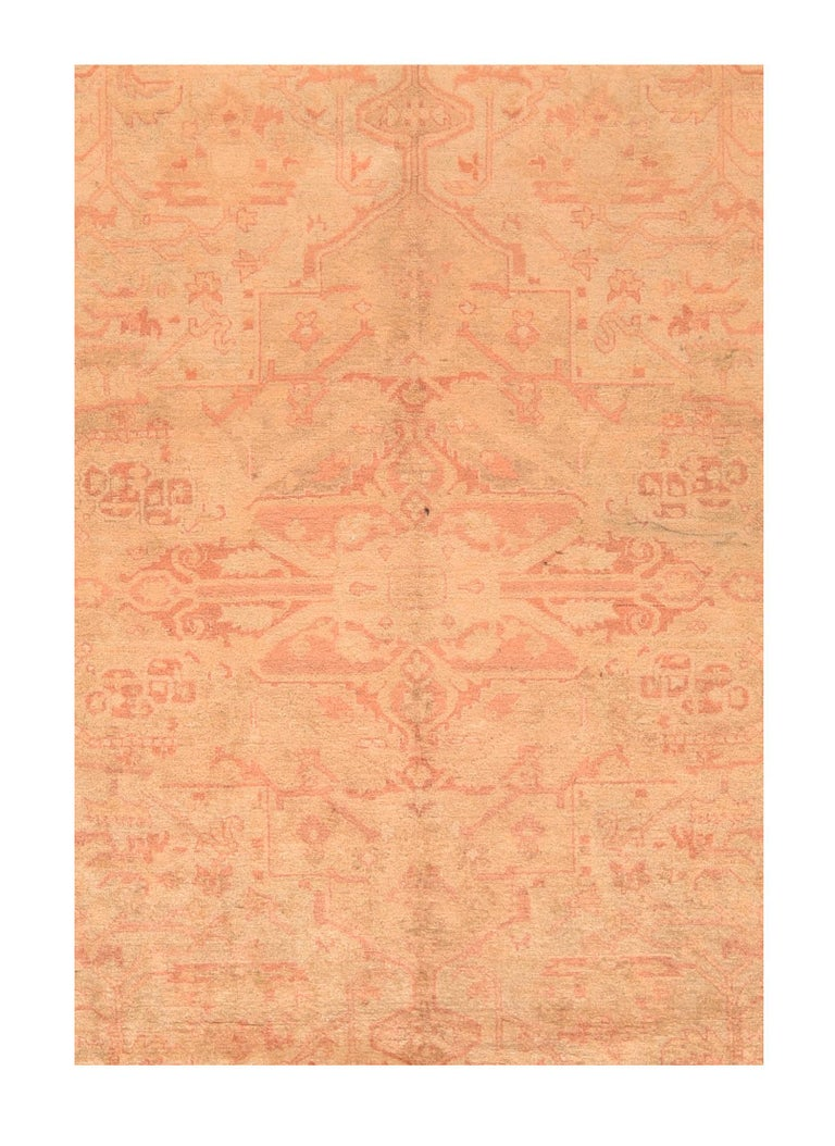 Late 19th Century Hand Knotted Indian Amritsar Wool For Sale