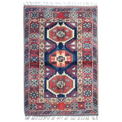 Hand Knotted Oriental Carpet Traditional Turkish Rug