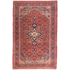 Hand Knotted Persian Bidjar Wool