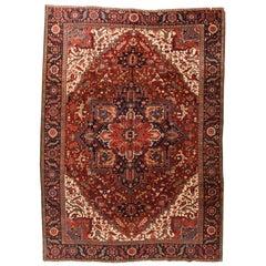 Vintage Persian Heriz