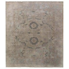 Hand Knotted  Sultanabad Design Indian Rug