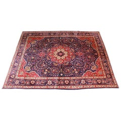 Hand Knotted Persian Tabriz Area Rug