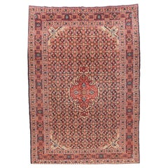 Hand Knotted Persian Tabriz Senneh Weave Wool