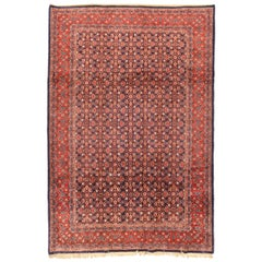 Hand Knotted Persian Tabriz Wool