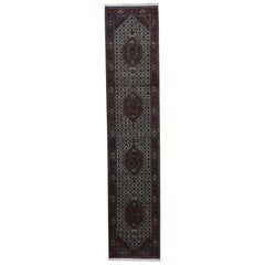 Hand Knotted Pure Wool Persian Tabriz Oriental Runner Rug