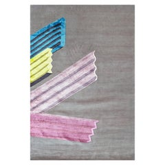 21st Century Carpet Rug Extrud by Fabien Cappello  in Himalayan Wool and Silk
