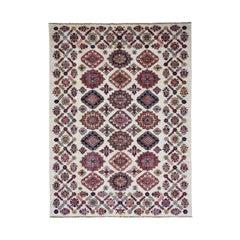 Hand Knotted Super Kazak Caucasian Design Pure Wool Oriental Rug