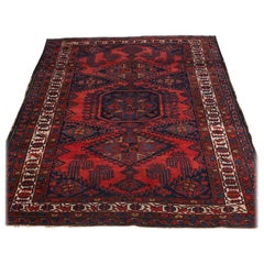 Hand Knotted Viss Wool Carpet, C.1920