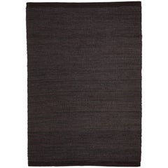 Hand-Loomed Herb Rug by Nani Marquina in Black/Charcoal, Extra Large