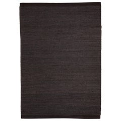 Hand-Loomed Herb Rug by Nani Marquina in Black/Charcoal, Large