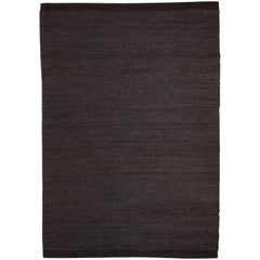 Hand-Loomed Herb Rug by Nani Marquina in Black / Charcoal, Standard