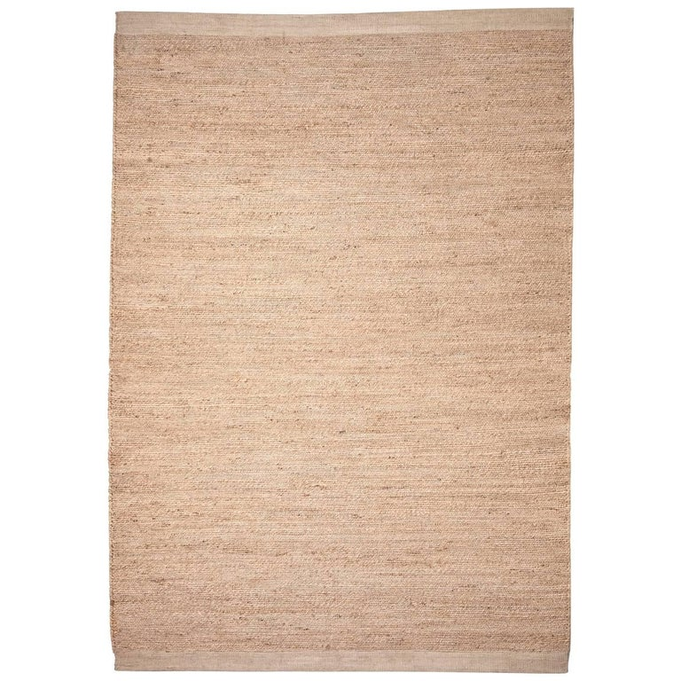 Hand-Loomed Herb Rug by Nani Marquina in Natural, Extra Large For Sale