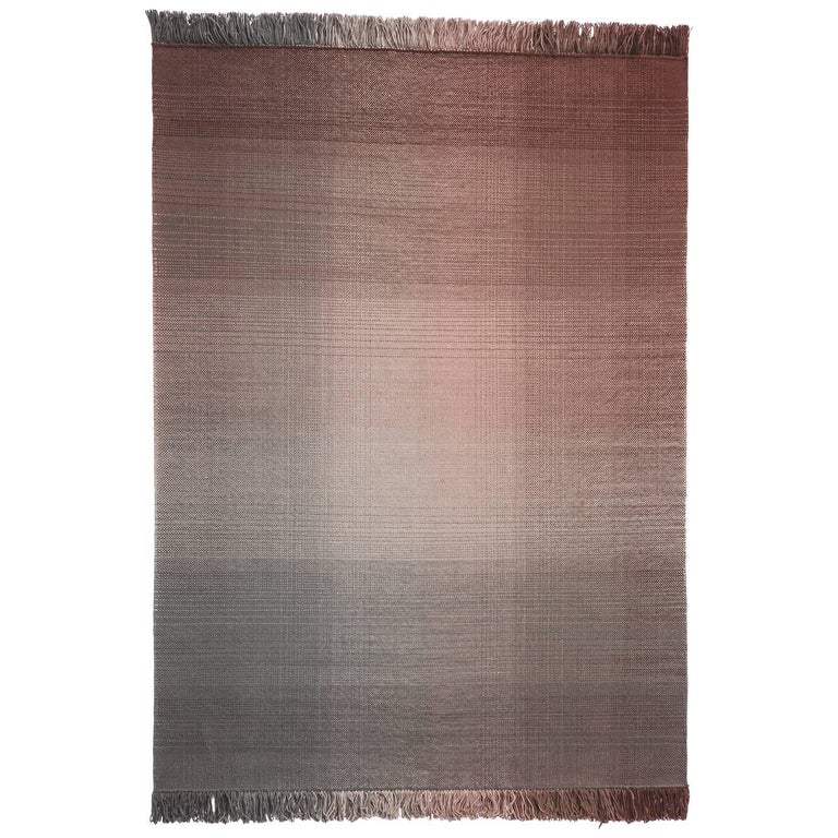 Hand-Loomed Nanimarquina Shade Rug Palette 4 by Begum Cana Ozgur, Large For Sale