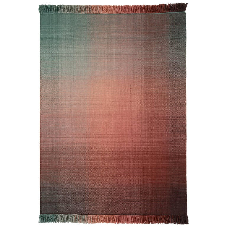 Hand-Loomed Nanimarquina Shade Rug Palette1 by Begum Cana Ozgur, Large For Sale
