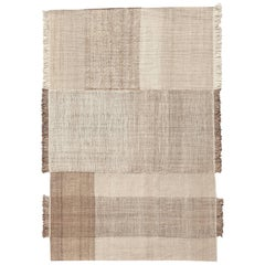 Hand-Loomed Ochre Tres Vegetal Rug by Nani Marquina & Elisa Padron, Extra Large