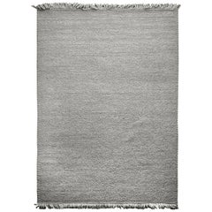 Hand Loomed Super Soft Customizable Karma Rug in Smoke Extra Large